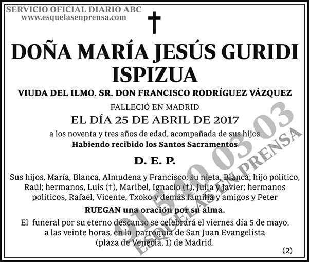 María Jesús Guridi Ispizua
